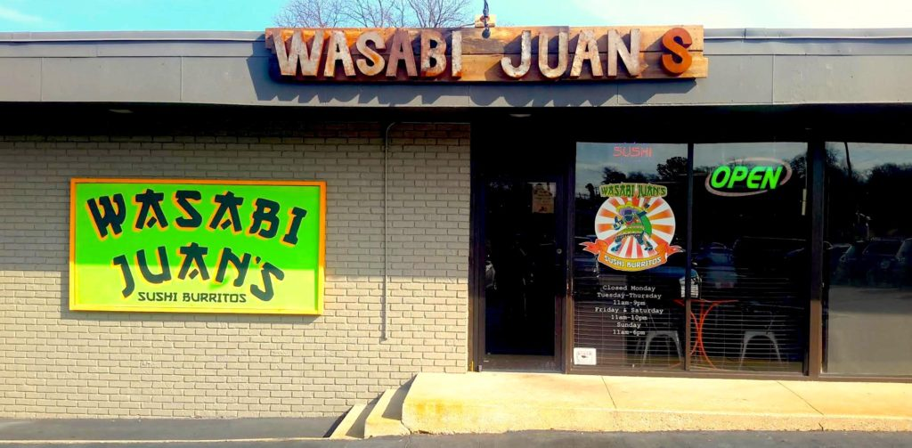 Wasabi Juan's opens new Hoover location May 16, 2017!