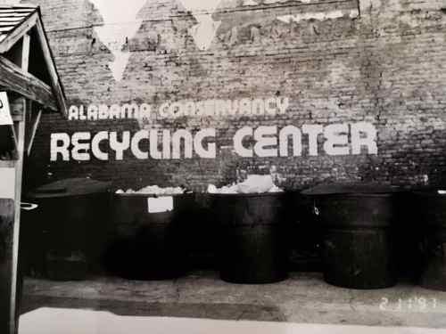 Alabama Conservancy Recycling Center Birmingham Alabama