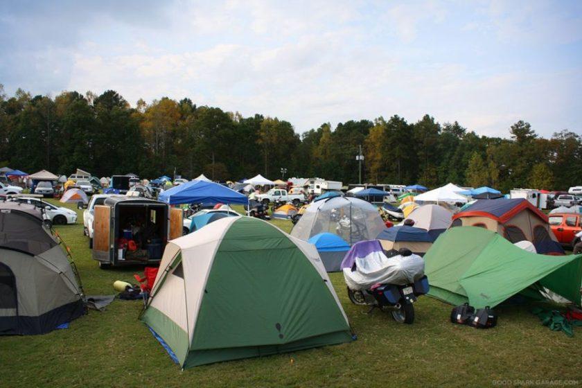 Barber Motor Sports Camping