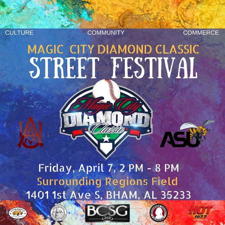 Magic City Diamond Classic Street Festival Birmingham AL