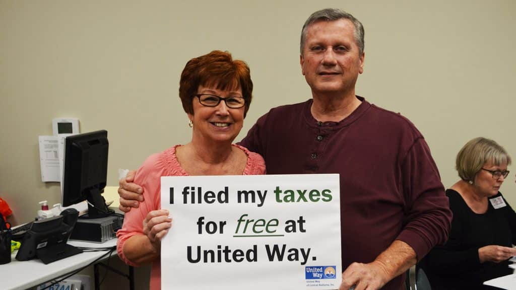 Need help with your taxes? Make an appointment with the United Way today