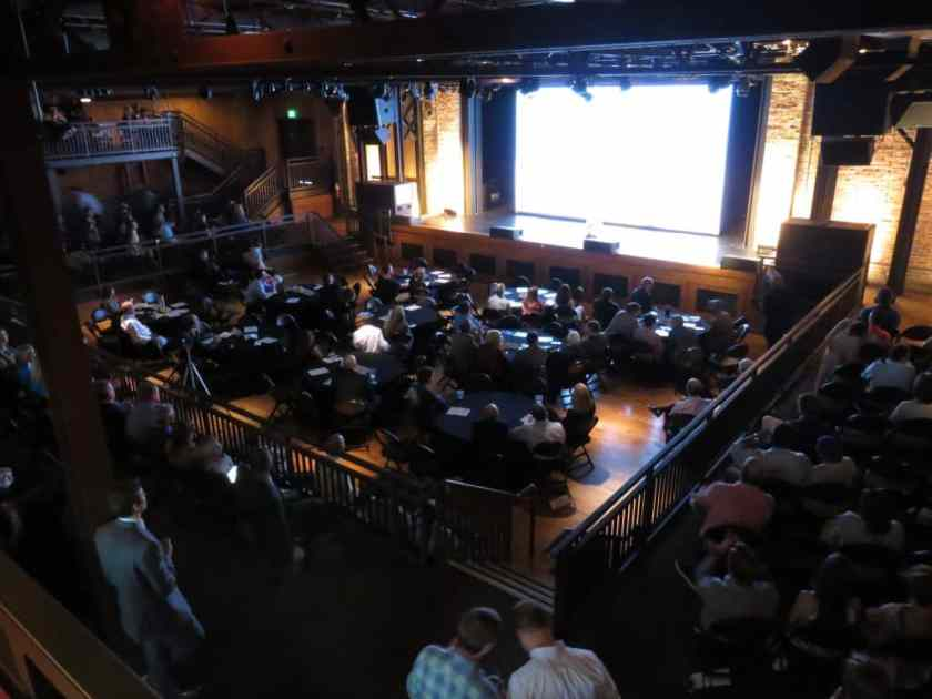 The crowd was massive at Iron City Bham for Demo Day