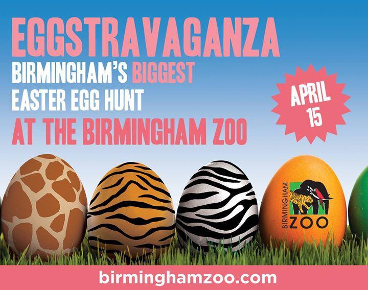 Eggstravaganza Birmingham's Biggest Easter Egg Hunt at The Birmingham Zoo Top Things to do Birmingham April 13th 18th