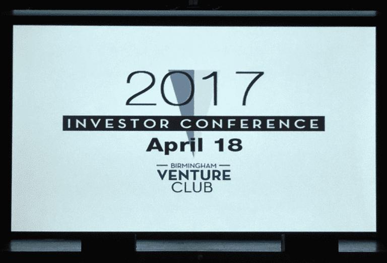 Birmingham Venture Club Investor Conference 2017 Presenting Companies