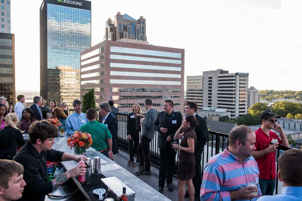 Guide to rooftop bars birmingham for Food bar in birmingham al