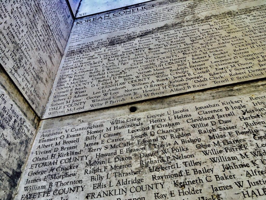 Graceful and sacred – Alabama Veterans Memorial Park (photo gallery)