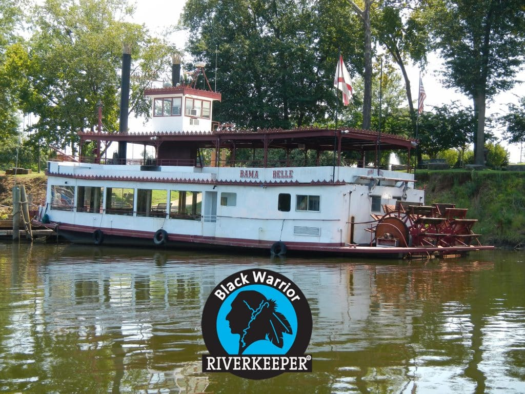 Black Warrior Riverkeeper celebrating 15 years aboard the Bama Belle