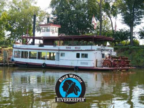 Bama Belle, Black Warrior Riverkeeper logo