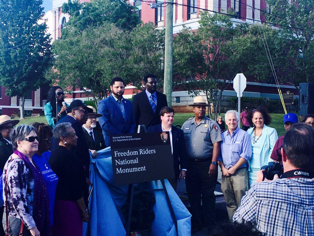 Anniston Alabama Freedom Rider supporters