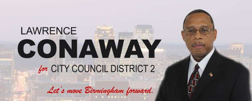Lawrence Conaway Birmingham City Council Candidate District 2