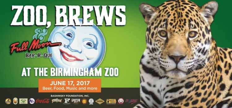 Birmingham Zoo 3rd Annual Zoo Brews and Full Moon Bar-B-Que Birmingham AL