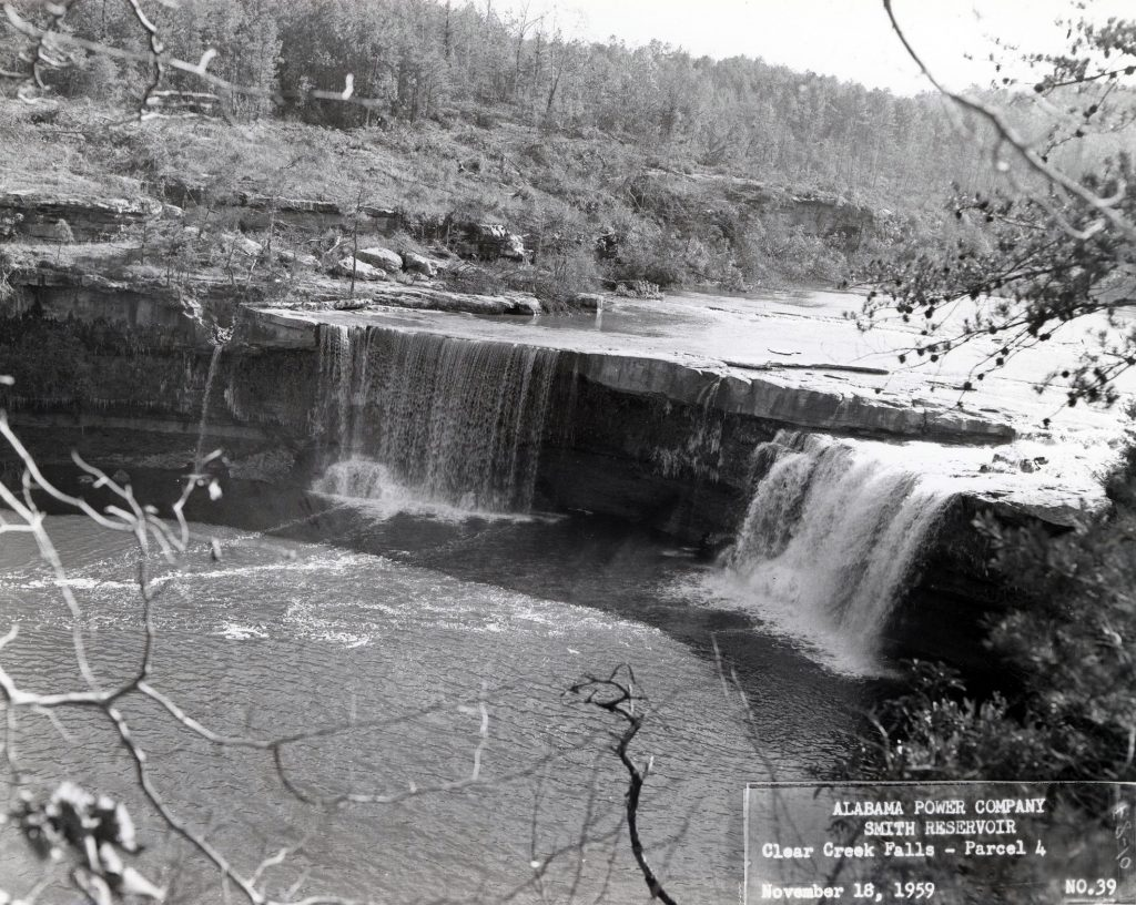 Clear Creek Falls Alabama