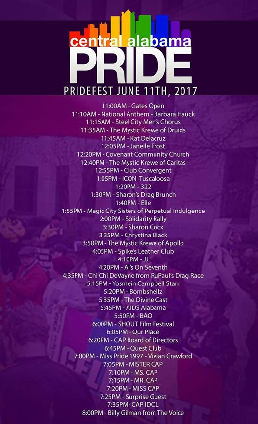 Birmingahm AL Pridefeset Bham Now Top things to do