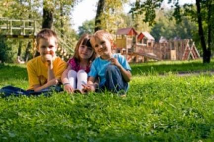 Image may include: children, outdoors, smiling