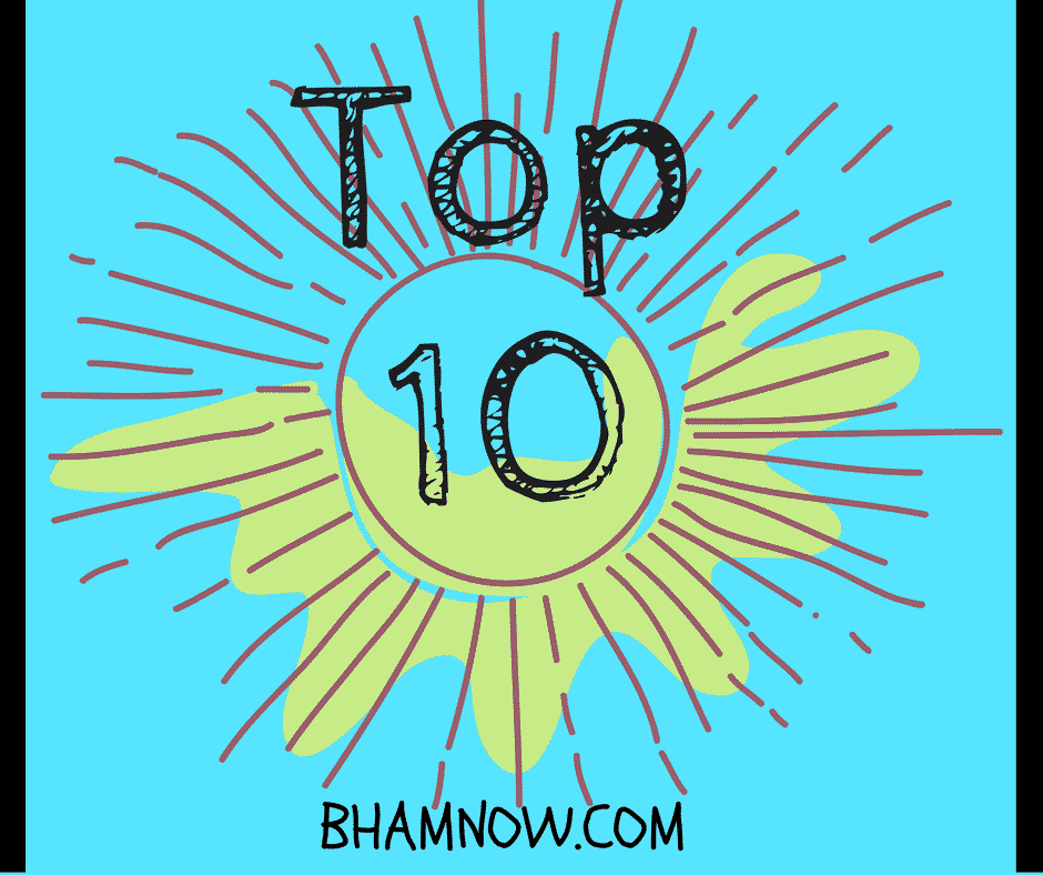 Birmingham Top Ten: August 9th to the 15th