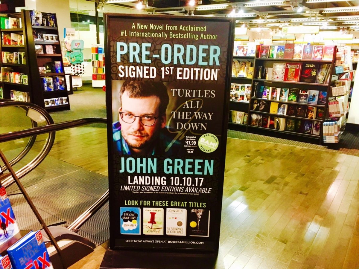 Announcing the Next Book from John Green, New York Times Bestseller and Indian Springs Alum