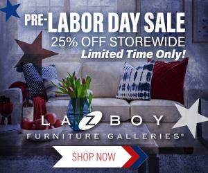 La-Z-Boy Labor Day Sale