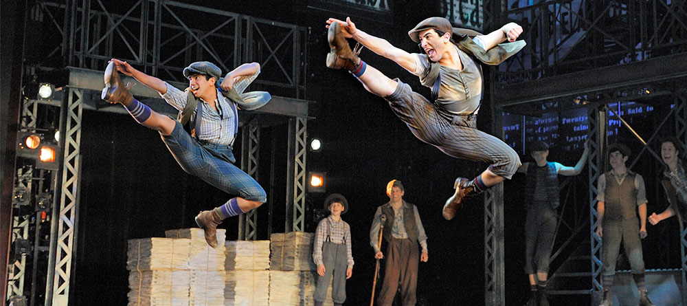 Enter by 5pm Fri., July 14 to win FREE tickets to Disney's Newsies