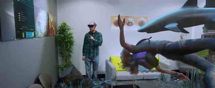 fragments augmented reality AR hololens