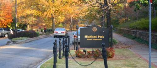 Highland Park townhouse development