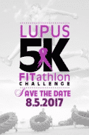 A flyer for the Lupus 5K in Birmingham
