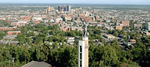 views of Birmingham