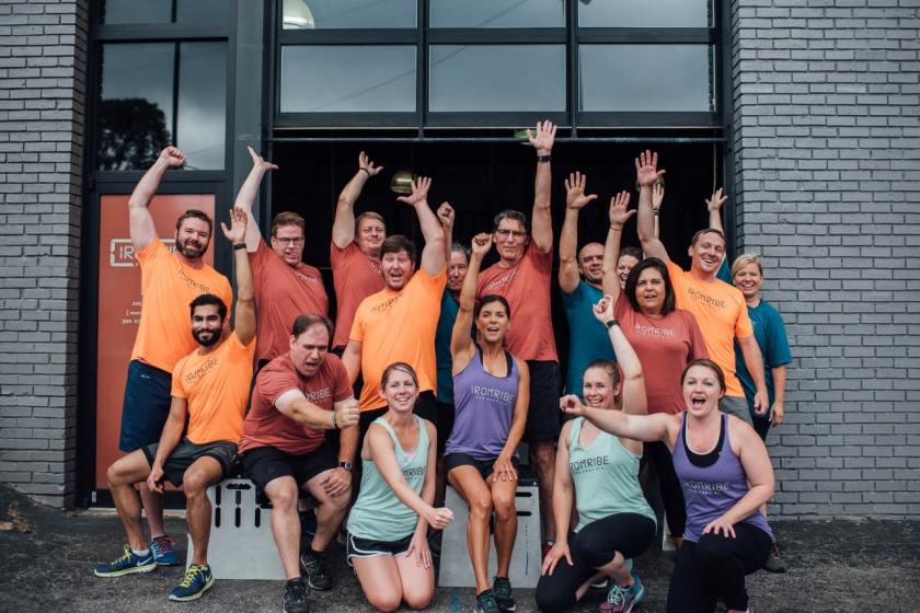 iron tribe group photo