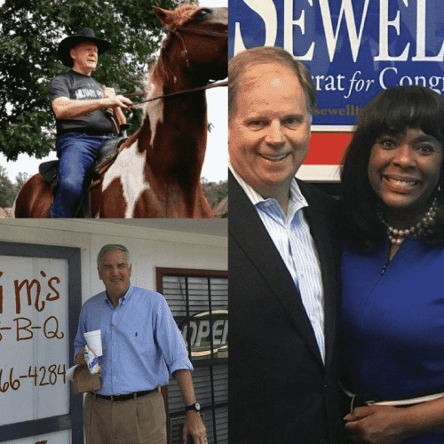 Birmingham, Alabama, special, election, primary, runoff, vote, Roy Moore, Doug Jones with Congresswoman Terri Sewell and Senator Luther Strange,