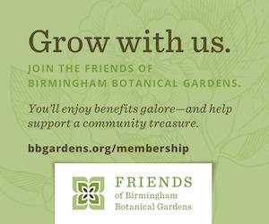 Join the Birmingham Botanical Gardens