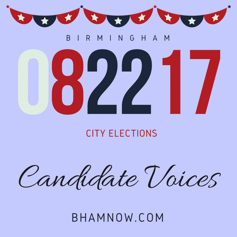 Candidate voices: talking about violence reduction in Birmingham