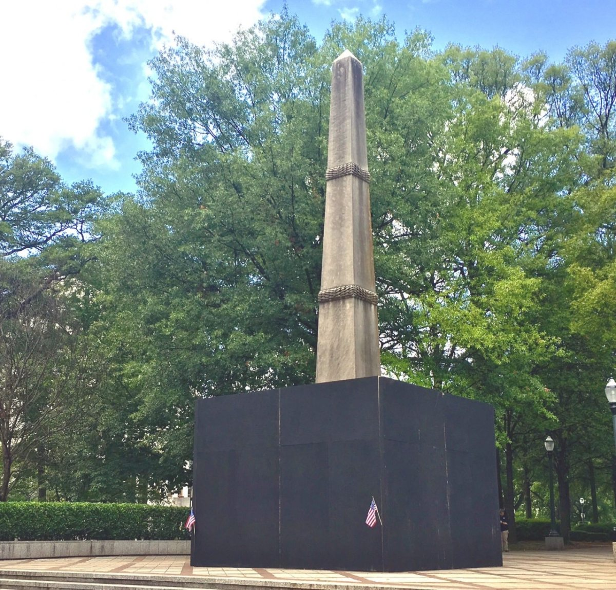 Confederate Soldiers and Sailors Monument, Lynn Park, Birmingham, Alabama