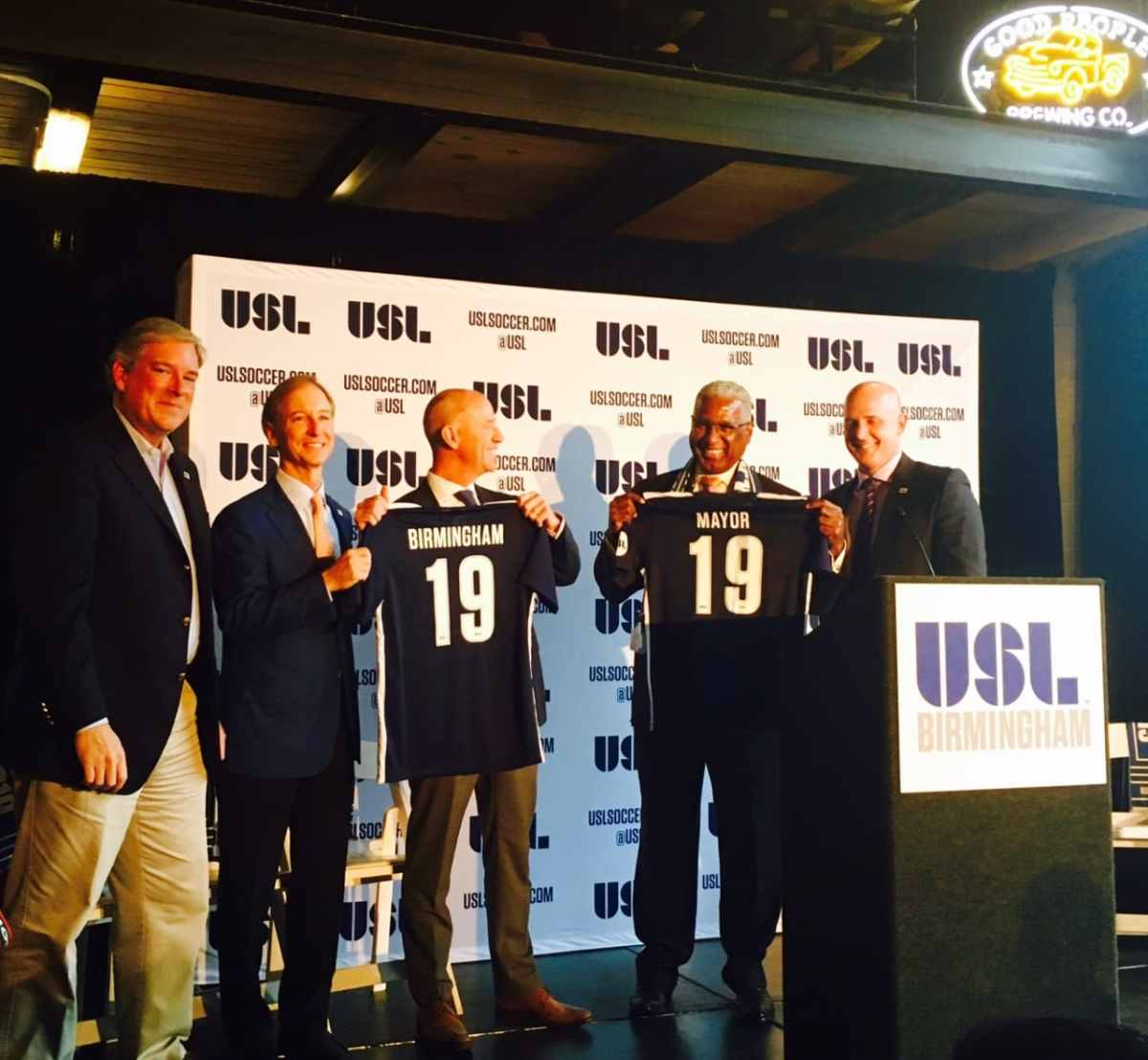 Soccer history in the Magic City! Birmingham to join USL in 2019