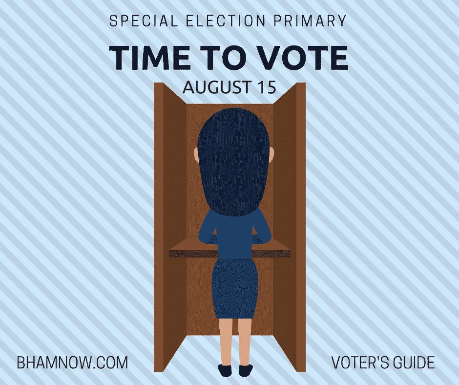 voter's guide, alabama, birmingham, special, election, senate, republican, democrat