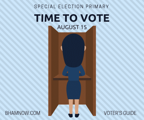 Alabama, Birmingham, special, election, primary, voting, vote, voter's guide
