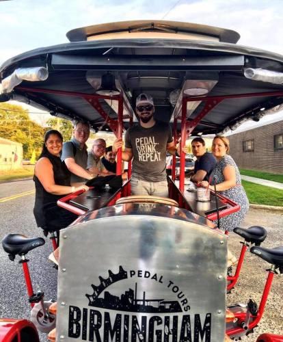 Birmingham, Alabama, pedal tours