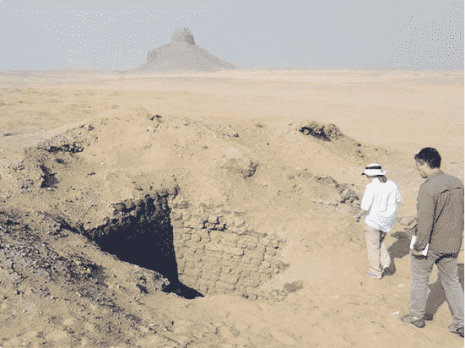 Archaeologists from UAB in Egypt