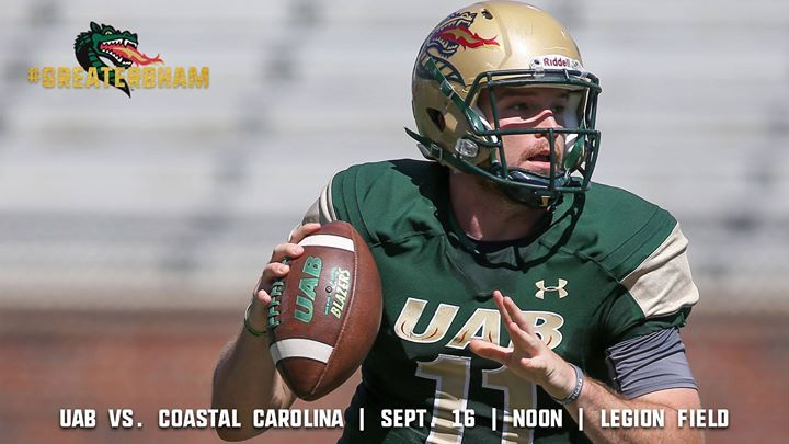 Football vs. Coastal Carolina
