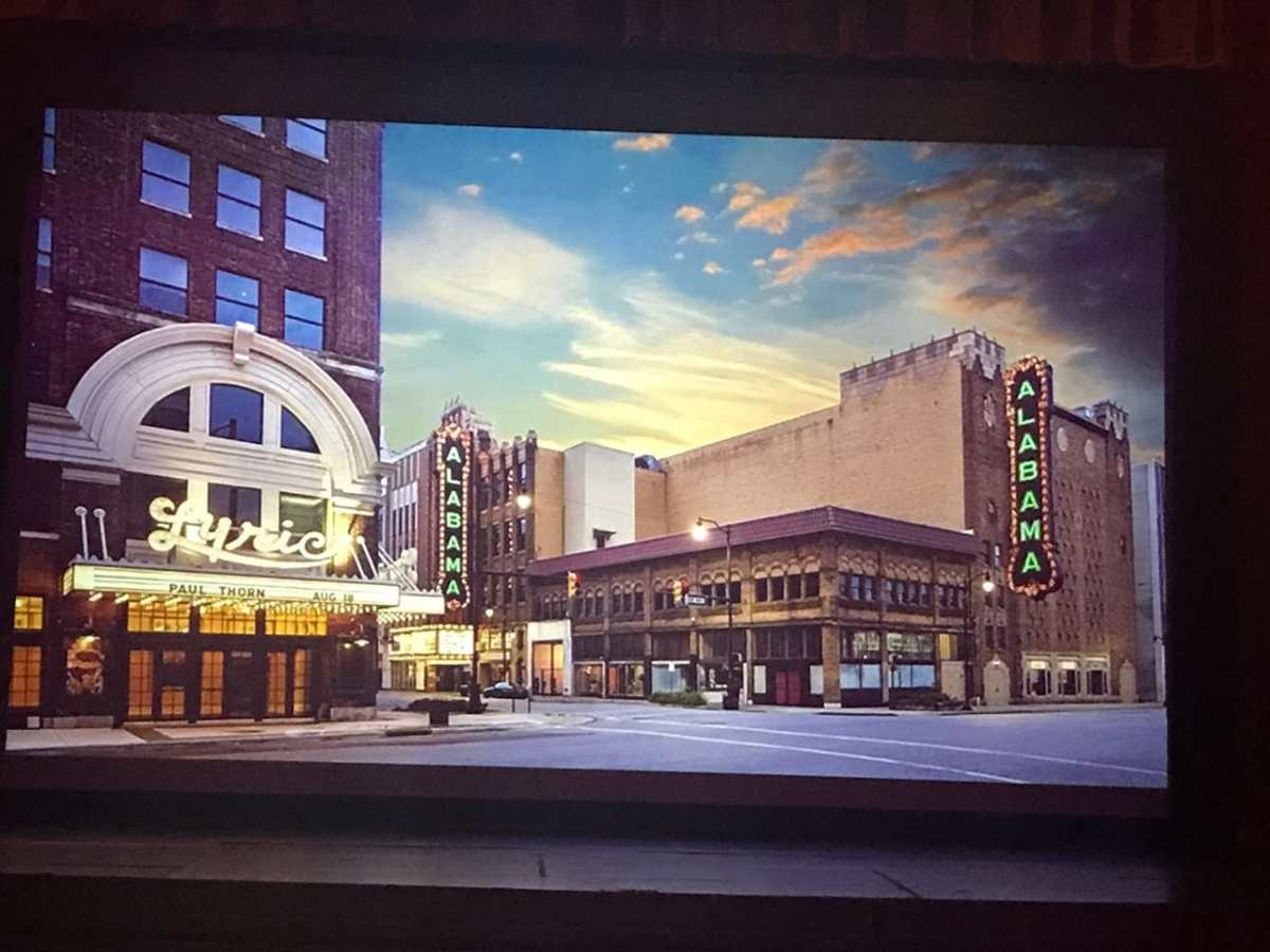 """Help bring back the 18th Street """"ALABAMA"""" Theatre sign"""