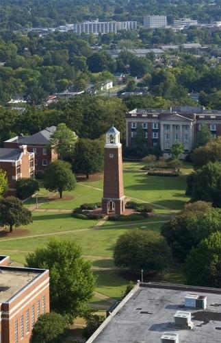 birmingham southern aerial photo