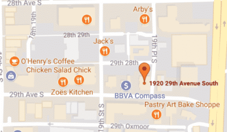 Screenshot of the location of the new Urban Cookhouse location.