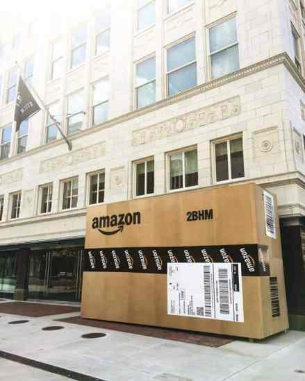 Amazon Box at Pizitz