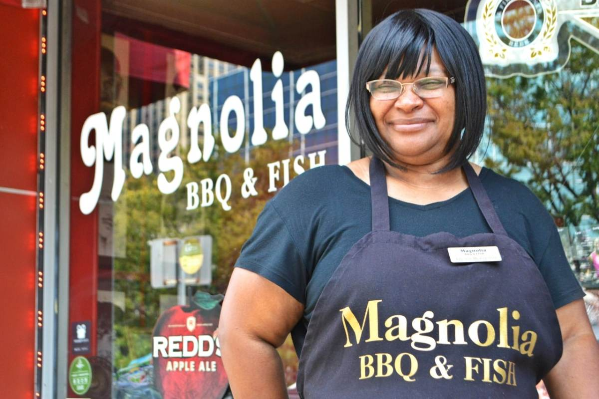 Small business Monday - Spotlight on Magnolia BBQ & Fish