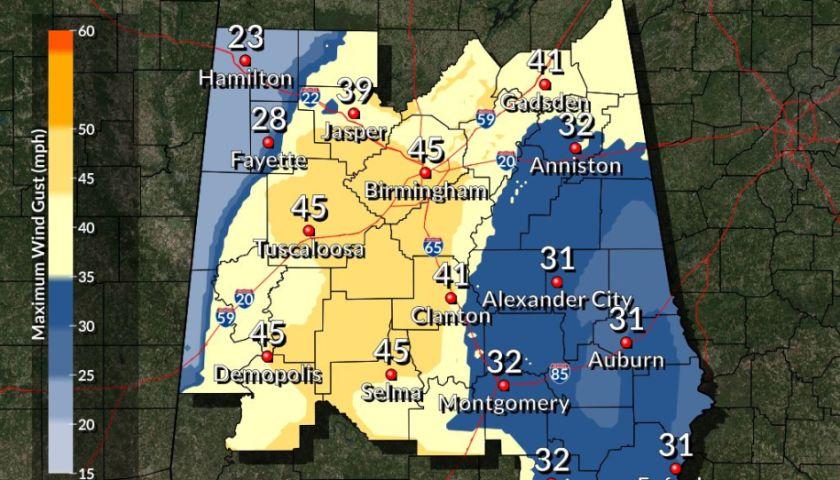 Weather: Tornado watch in effect in Jefferson County Feb  23