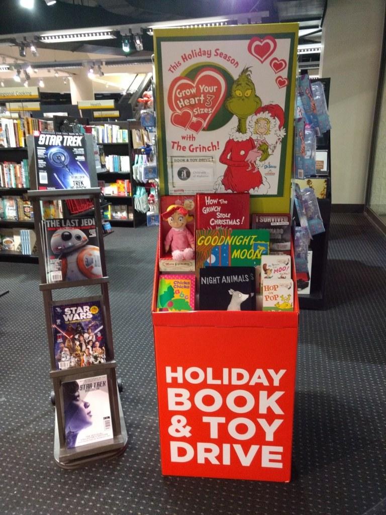 Books-A-Million Toy Drive, BAM, UAB, Children's Hospital, Birmingham, Alabama
