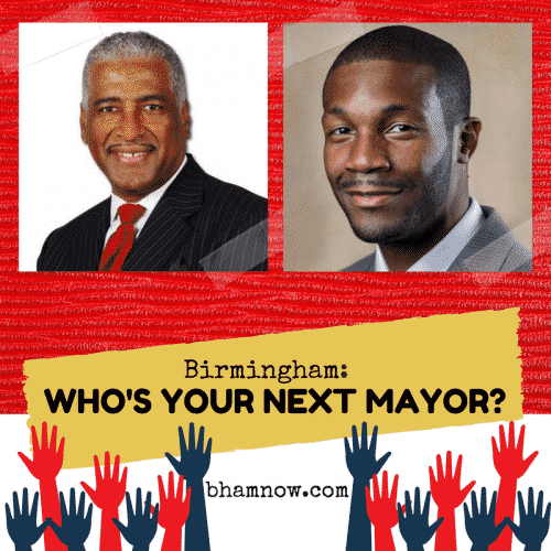 Birmingham, Alabama, mayor, Randall Woodfin, William Bell, election, mayoral, runoff, vote, voting