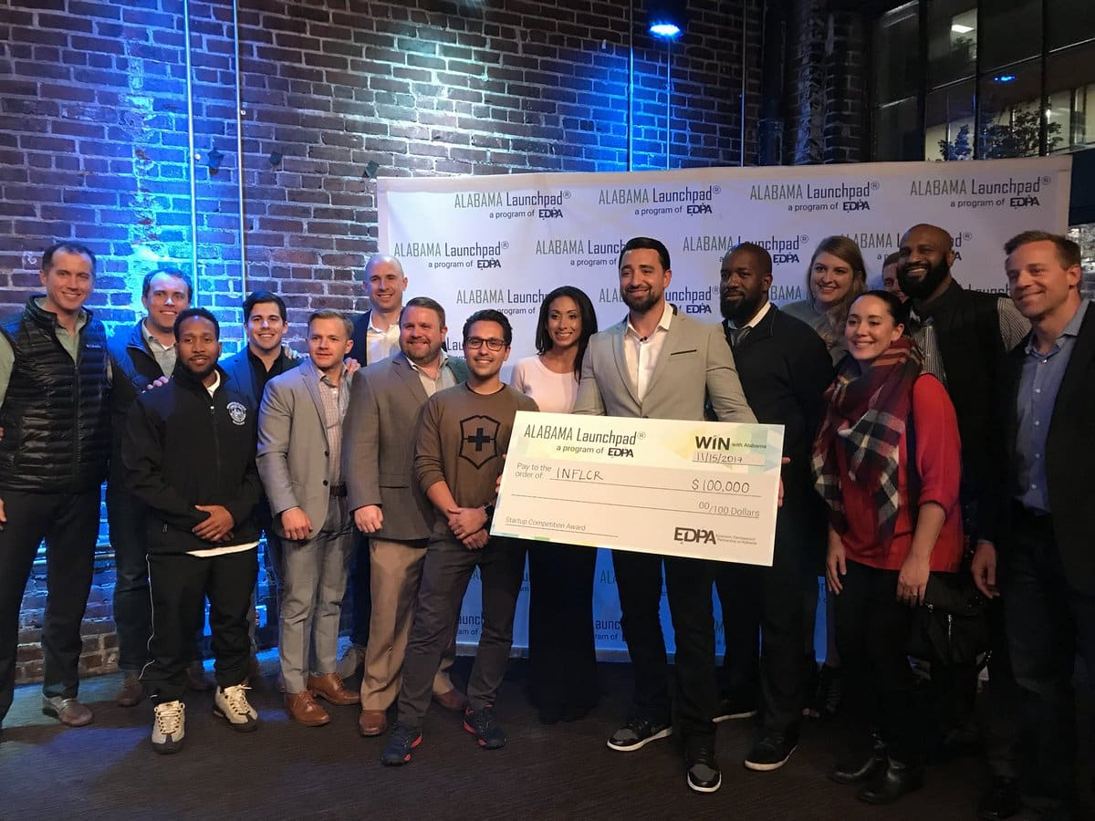 Influencer and Edify Online Corp. take home $150,000 at Alabama Launchpad Startup Competition
