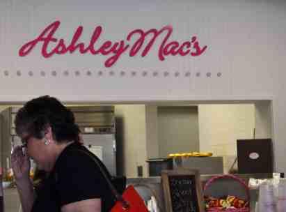 Ashley Mac's Thanksgiving menu!