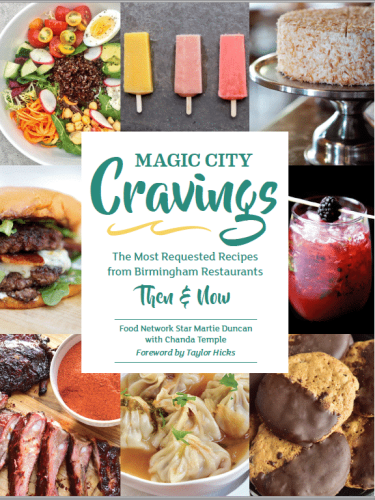 Magic City Cravings, Martie Duncan, Chanda Temple, Birmingham, Alabama