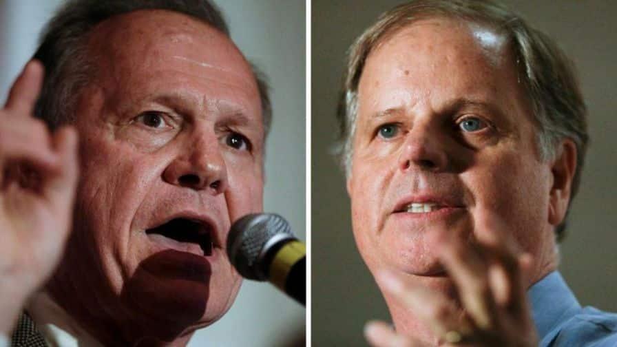 Roy Moore, Doug Jones, Fox News, Birmingham, Alabama, Senate , election