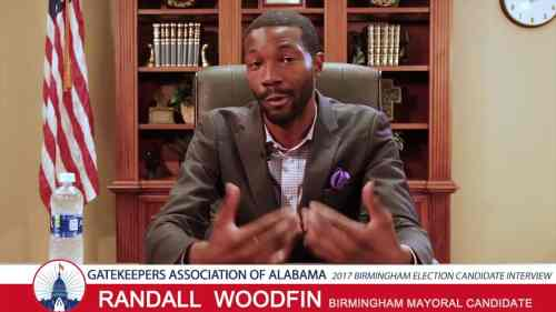 Birmingham, Alabama, mayor, Randall Woodfin